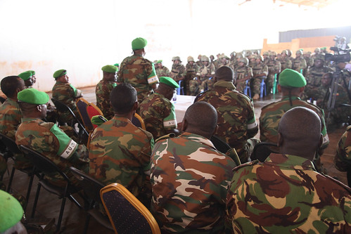 AMISOM Acting Force Commander Concludes Tour of Kismayo
