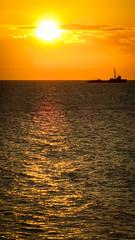 Is not a sea (fran_1911) Tags: sunset sea orange rio azul night america river contraluz de uruguay atardecer noche la boat mar barco south plate plata montevideo pesca naranja costanera sudamerica