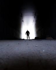 RAS DU SOL 011 (STEPHANE COSTARD PHOTOGRAPHIE) Tags: light people man silhouette canon photography bretagne tunnel brest serie projet finistère ratseyeview rasdusol g5x