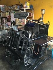 A printing press (kcosgrove) Tags: mai chiang