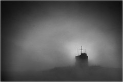 Cabot Tower. (Shoestring Photos) Tags: tower fog cabot signalhill