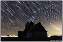 ST#16-52  Fairfield Church (seb a.k.a. panq) Tags: nightphotography church st night stars isolated fairfield 52 startrails 52weeks sebastianbakajphotography