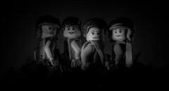 class of '83 (jooka5000) Tags: blackandwhite bw photography starwars photographer lego group lovers queen princessleia iloveyou 1983 chewbacca hansolo returnofthejedi iknow endor classof rotj rebeltroopers
