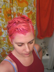 Hair Dyeing Time - Middle 12/30/2015 (JessX) Tags: hairdye