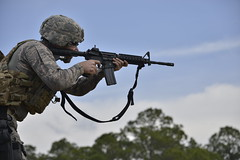 160311-Z-FY748-200 (georgiaairguard.165aw) Tags: army military rifle target guns airforce m4 securityforces marksmen 165aw gaang guarddawgs andrewsullens