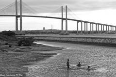 (ronaly_dias) Tags: brazil white black beach branco brasil natal photo photographer sony preto ponte fotografia litoral praias a37