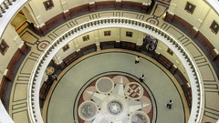 Texas State Capitol Rotunda (dckellyphoto) Tags: texas vertigo round marble lookingdown rotunda height 2016