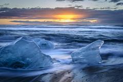 Jkulsarlon Sunrise (D-Niev) Tags: iceland ipix visipix