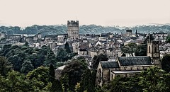 Richmond (diminji (Chris)) Tags: castle effects town yorkshire richmond lowry hdr northyorkshire lslowry oilpainteffect hdrtoning pixelbender loveyorkshire