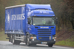 Scania G320 DFD's Logistics NK63 ARZ (SR Photos Torksey) Tags: road truck transport lorry commercial vehicle freight scania logistics dfds haulage hgv lgv g320