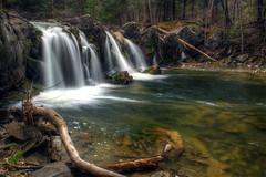 Hannacroix Creek Falls (ca276) Tags: longexposure creek waterfall stream upstateny slowshutterspeed greenecounty nikond5200 hannacroixcreekpreserve
