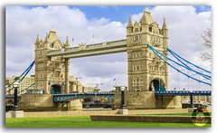 London Tower Bridge! (KS Photography!) Tags: uk travel bridge england urban building green london english heritage history monument grass silhouette yellow rock horizontal stone closeup skyline architecture clouds skyscraper towerbridge vintage wow photography golden ancient nikon colorful europe downtown european cityscape riverside symbol unitedkingdom britain outdoor flag traditional famous capital perspective culture bluesky nopeople landmark international national transportation drawbridge british daytime nikkor iconic riverthames nikondigital ages cloudscape toweroflondon southwark attraction whiteclouds destinations travelphotography sideangle photoborder