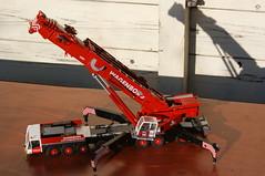 DSC03711 (Wilfred de Groot) Tags: big hobby cranes homemade precious rig heavy beautifull scalemodel heavyduty terex heavylifting wagenborg demag ac700