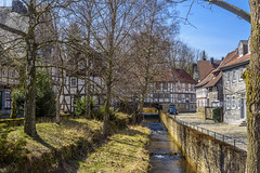 A Beautiful Corner In Goslar (dietmar-schwanitz) Tags: city sky germany deutschland himmel stadt altstadt oldtown harz goslar lightroom niedersachsen lowersaxony gose fachwerkhuser halftimberedhouses abzucht dietmarschwanitz nikond750 nikonafsnikkor24120mmf40ged