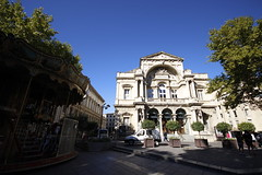 Theatre  @  Avignon (sunnybille) Tags: france architecture canon frankreich theater theatre sommer streetphotography architektur avignon perspektive 2015 strasenfotografie strasenansicht