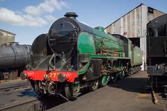 777 Sir Lamiel (MitchellTurnbull) Tags: photography arthur nikon king great central shed railway class southern april sir railways 777 sr 23rd loughborough n15 460 2016 gcr d3200 30777 lamiel