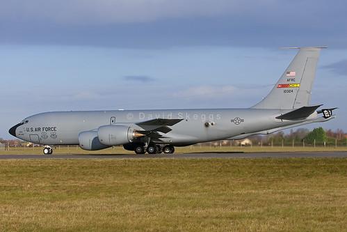 61-0324 KC-135R Stratotanker - 336thARS/452ndAMW - March Air Reserve Base, CA