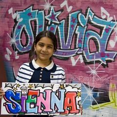 Sienna Sohi (paulquance) Tags: birthday party graffiti birmingham artist olivia sienna liv british digbeth livi sohi quance facesofportraits cityofcolours graffitiartistcom