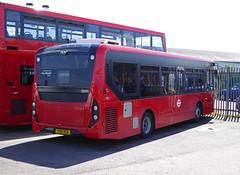GAL SE291 - YX16OCW - BV BELVEDERE GARAGE - THUR 28TH APR 2016 (Bexleybus) Tags: new bus london buses ahead garage go 200 belvedere dennis mmc bv enviro etb adl goahead se291 yx16ocw