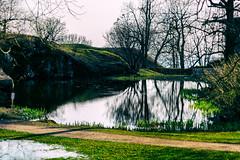 Suomenlinna (Tuomo Lindfors) Tags: park water suomi finland pond helsinki piper suomenlinna vesi sveaborg puisto lampi niksoftware viveza piperin analogefexpro