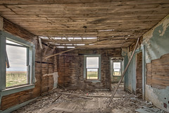 Remember the 60s (Wayne Stadler Photography) Tags: old houses house canada abandoned home farmhouse rural countryside country alberta weathered homestead aged prairies derelict domecile