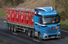 ARR Craib Mercedes Actros SV64CTX (andyflyer) Tags: truck transport lorry a90 haulage hgv roadtransport mercedesactros arrcraib sv64ctx