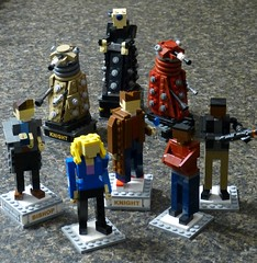 Doctor Who Chess: (Dodge...) Tags: game scale rose jack lego martha chess mickey doctor doctorwho slug dalek davros tennant 2016 miniland playable