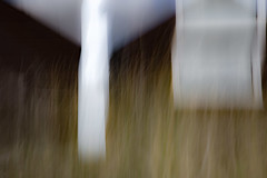 Amongst The Dunes - I (dthackwell) Tags: abstract blur beach window grass outdoor beachhut icm intentionalcameramovement