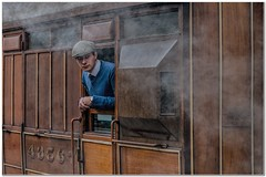 Thoughts on the journey ahead (Hugh Stanton) Tags: train wwii steam pickering reinactment gadsby appickoftheweek