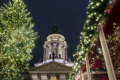 Berlin (HybridDave) Tags: christmas travel lightpainting tree berlin tourism beautiful dave night germany dark festive deutschland photography lights photo nikon pretty market hybrid baubles kersfees