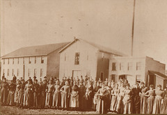 Portage Hosiery Mill with Female Workers