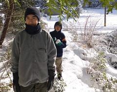 winter snow (asiadyer) Tags: winter white snow japan japanese gifu mino seki
