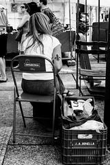Fleur de lis (marcelo_valente) Tags: street blackandwhite woman monochrome tattoo sitting fuji streetphotography streetlife antarctica fujifilm fleurdelis blackandwhitephotography streetphotographer monochromephotography xe2 myfujifilm streettogs xf27mm fujifilmxe2