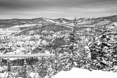Desrosiers-MWright80-HDR (Guy Desrosiers) Tags: hiking hiver paysage raquette laurentides sentiers montwright