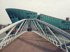 Nemo #01 (Samuele Silva) Tags: city verde art amsterdam museum architecture modern nemo piano nl renzo noordholland paesibassi