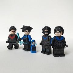Nightwings (MAGIC ID) Tags: dc lego batman superheroes gotham nightwing ols arkham onlinesailin arkhamknight