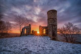 Sunrise from Kinnoull Hill
