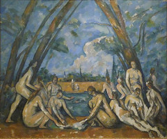 Cézanne, The Large Bathers, 1906
