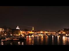 P1020103 (lhoteln) Tags: paris seine night la tour or eiffel nuit quais