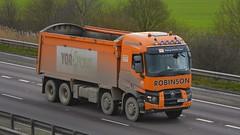 YX64 BNJ (panmanstan) Tags: truck wagon motorway m18 yorkshire transport renault lorry commercial vehicle range langham