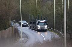 BCA PO65 UYV (stavioni) Tags: car truck reading automotive lorry eddie trailer transporter scania bca stobart p420 p410 a9500 po65uyv