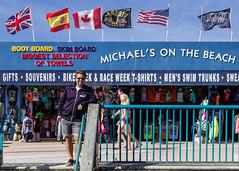Daytona Beach 2015-03-08 (Michael Erhardsson) Tags: travel usa michael pier florida unitedstatesofamerica flags daytonabeach resa portrtt 2015 erhardsson resml kuststad michaelsonthebeach
