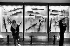 Peace. (Melvin Yue) Tags: bw museum mono blackwhite asia gun display vietnam fujifilm guns blacknwhite saigon hochiminhcity bnw hcmc x100s