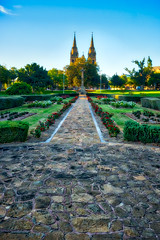Cross of Sacrafice Memorial Gardens.jpg (sfowlerphotos) Tags: landscape fuji adelaide hdr 14mm xt1