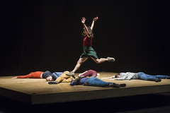 Marie Fonte & members of the company (DanceTabs) Tags: uk men london climb women circus stage performing arts barbican entertainment gravity acrobatics acrobat balance staged performers performer acrobatic contemporarydance hewhofalls yoannbourgeois dancetabs mariefonte eliselegros londoninternationalmimefestival2016 contemporaryvisualtheatre limf2016 compagnieyoannbourgeois costumesginette francescaziviani jeanbaptisteandre juliencramillet lightingadelegrepinet mathieubleton bodieslean hangandfall