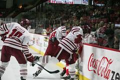 Hockey vs. BU (dailycollegian) Tags: umass bostonuniversity collegehockey umasshockey shanewalsh brennanbaxandall shannonbroderick