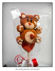 Valentine Sugar Bear (Godfrey DiGiorgi) Tags: california bear sculpture stilllife usa color detail us sugar marshmallow santaclara