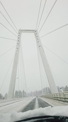 Kolbcksbron (magdalenasandberg) Tags: bridge sweden ume highkey bro vsterbotten kolbcksbron fotosondag fs160207