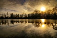 Winter reflections (Zyla, K. alone) Tags: winter nature landscape poland polska zima beskidniski wysowa thebp inexplore pentaxlimited justpentax pentaxart pentaxda15mmlimited pentaxk30