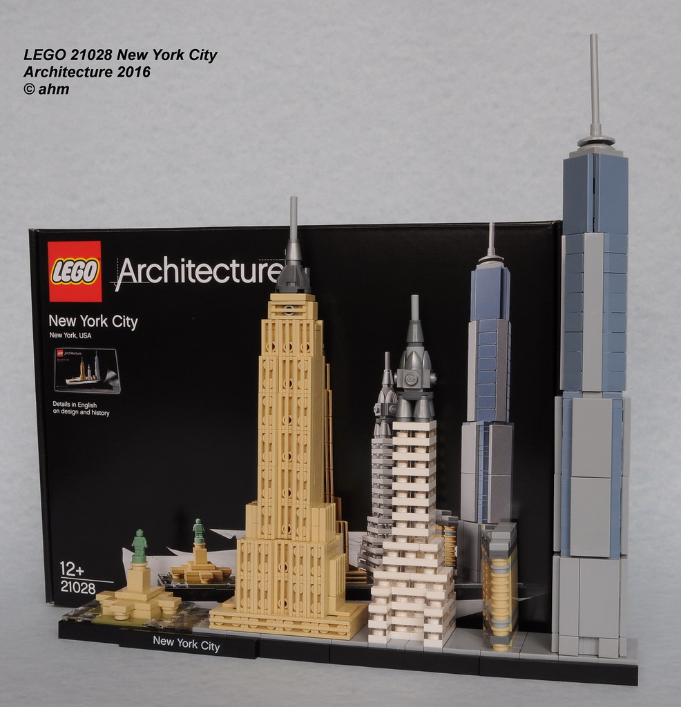 The world 39 s best photos of empirestatebuilding and lego for Lego architecture new york